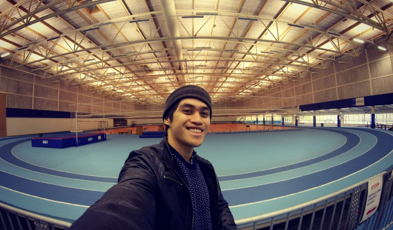 As I mentioned earlier, they have an indoor track here as well. During my younger running days, I basically started my passion for running on these very tracks. I must say I got a bit sentimental, and NO I didn't cry.