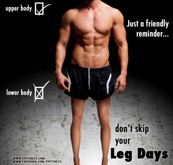 The don't skip leg day people..