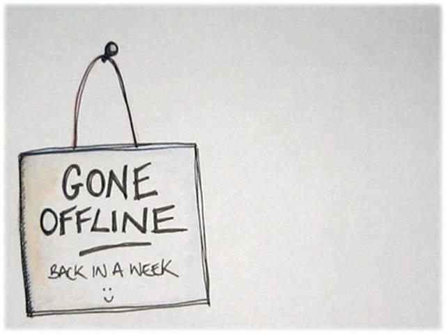 gone offline